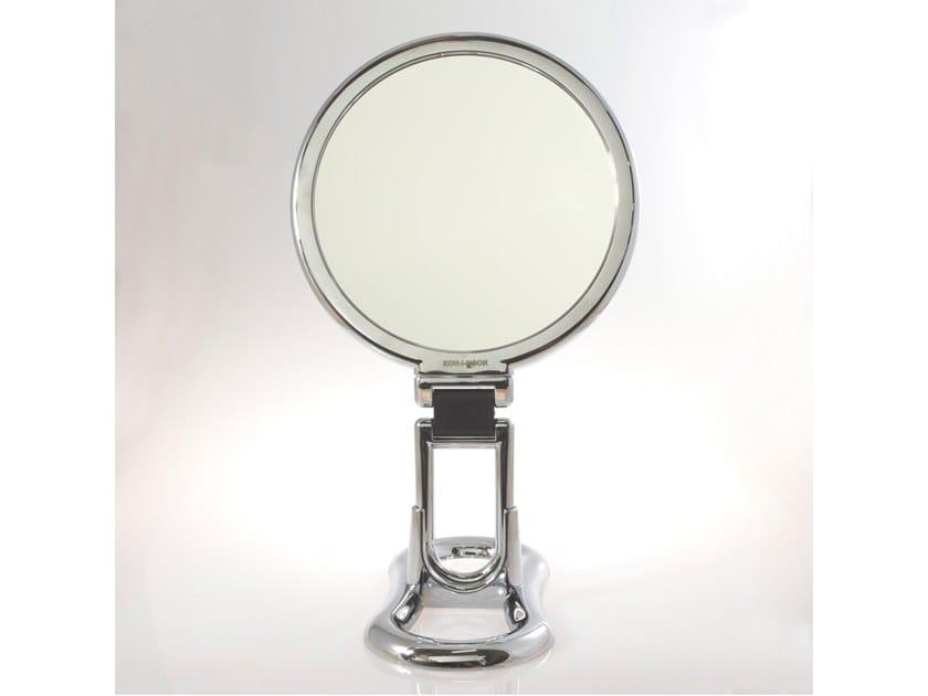 Countertop round shaving mirror TOELETTA by KOH-I-NOOR