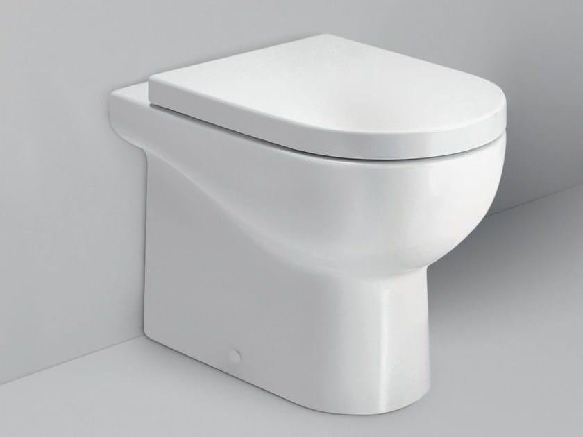 Ceramic toilet NUVOLA | Toilet by AZZURRA sanitari