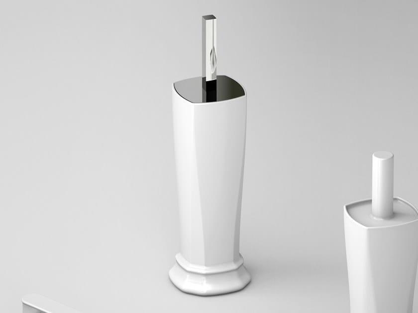 Ceramic toilet brush CIVITAS | Toilet brush by Artceram