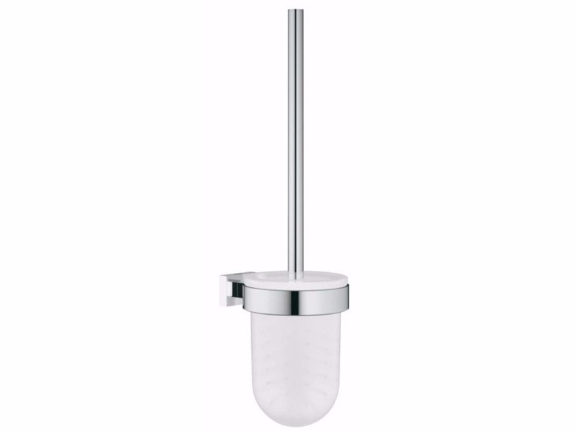 Wall-mounted toilet brush ESSENTIALS CUBE | Toilet brush by Grohe