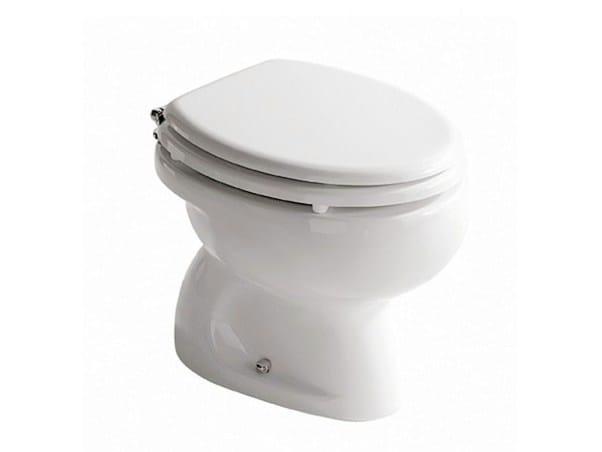 Ceramic toilet for children Toilet for children by GALASSIA