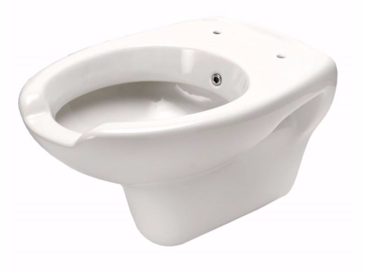 Wall-hung Vitreous China toilet for disabled with bidet CLASSIC | Toilet for disabled with bidet by Saniline