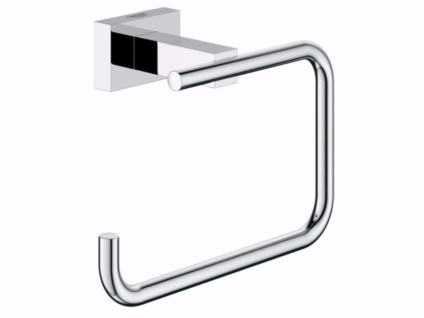 Toilet roll holder ESSENTIALS CUBE | Toilet roll holder by Grohe