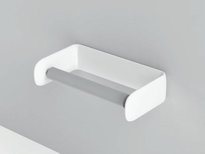 Corian® toilet roll holder SMOOTH | Toilet roll holder by Rexa Design