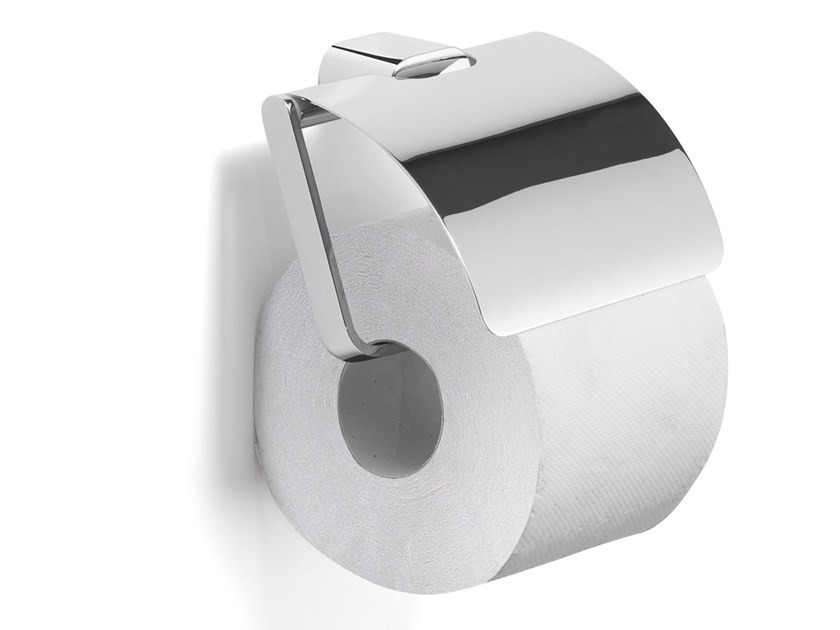 Toilet roll holder with cover AZZORRE | Toilet roll holder with cover by GEDY