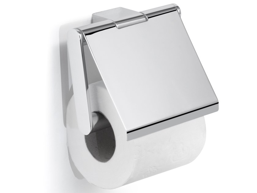Toilet roll holder with cover CANARIE | Toilet roll holder with cover by GEDY