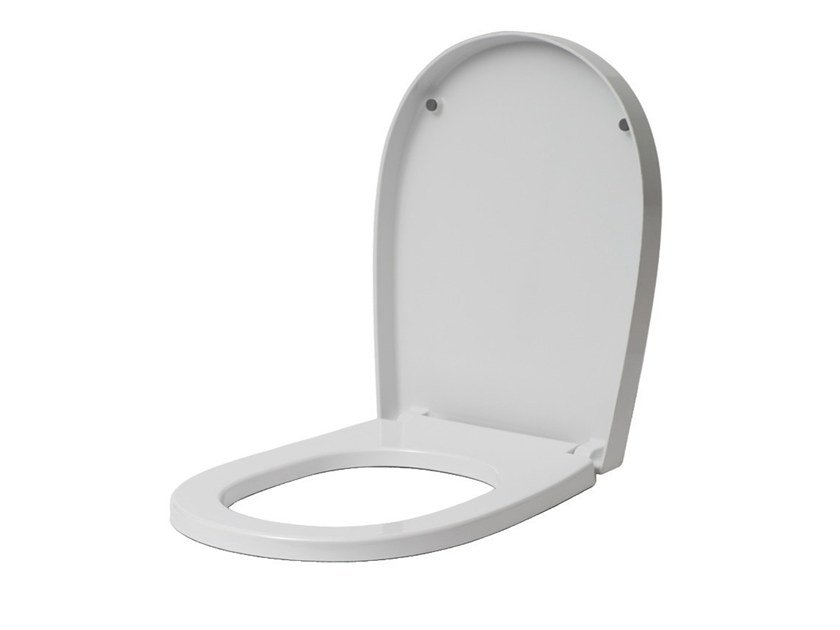 Plastic toilet seat with soft close EVERY 44 | Toilet seat with soft close by EVER Life Design