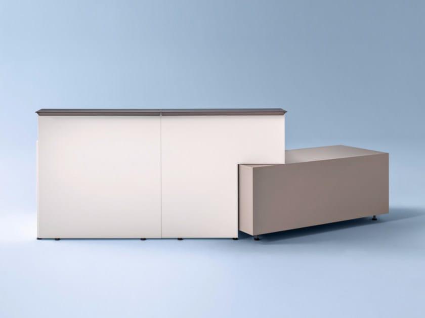 Reception desk TOKI LINE by Archiutti