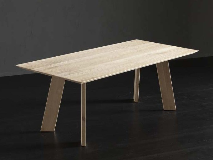 Rectangular wooden dining table TOLEDO + STREET by AltaCorte