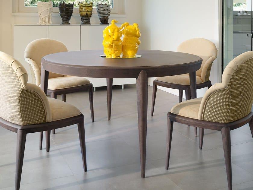 Sedie Per Tavolo Legno.Tolomeo Tavolo Rotondo Collezione Contemporary Living By Volpi