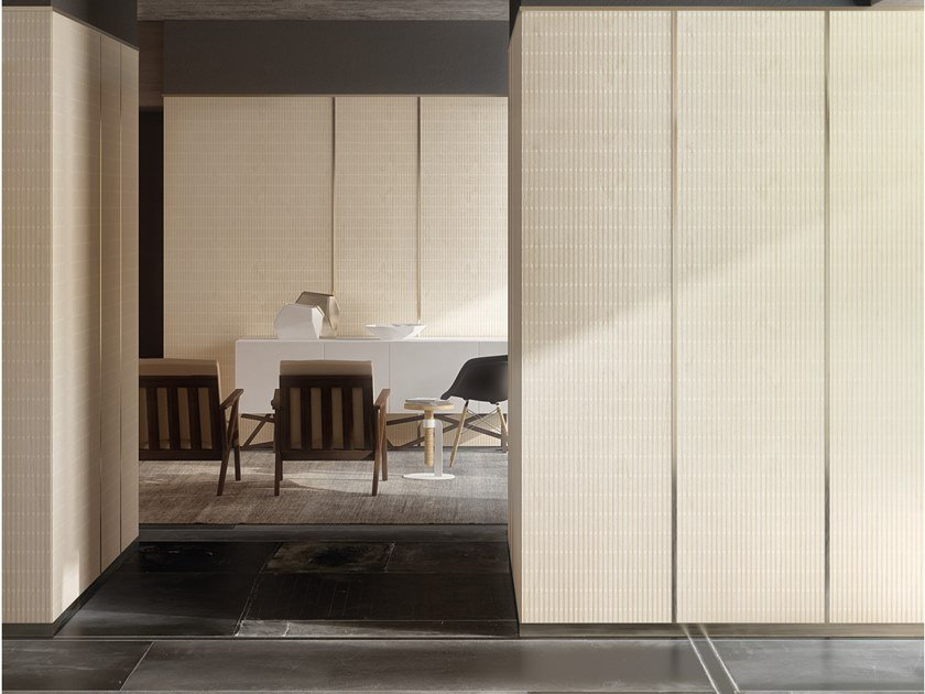 Wooden wall tiles TONDINI by Inkiostro Bianco