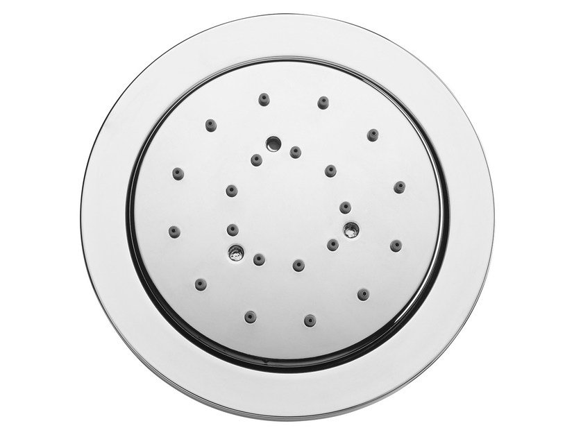 Built-in side shower with anti-lime system Tondo Reg by Bossini