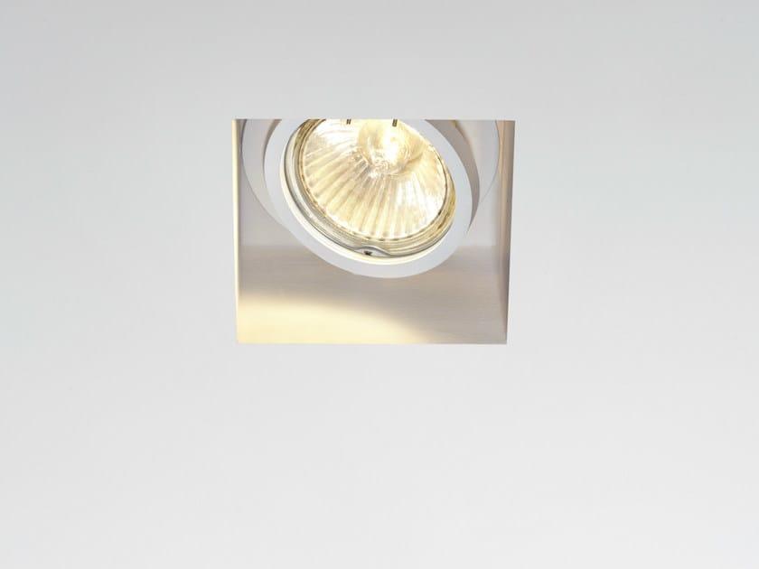 Recessed metal spotlight TOOLS | Spotlight by Fabbian