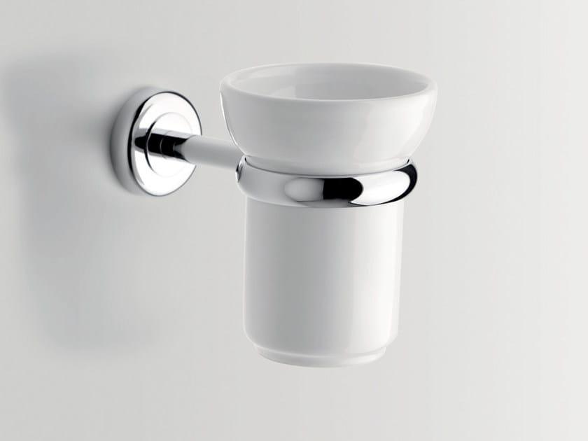 Portaspazzolino in ceramica CIRCLE | Portaspazzolino by BATH&BATH