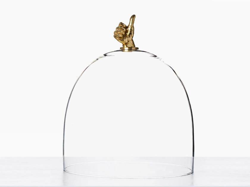 Glass decorative object TOP GOOD by Secondome Edizioni