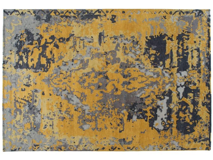 Handmade rectangular rug TOPKAJ GOLD by Golran