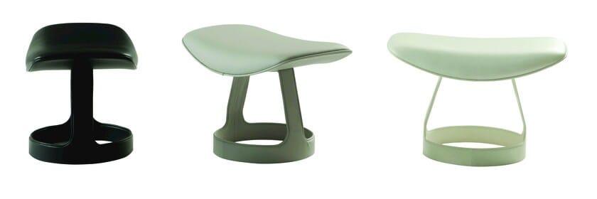 Fabric footstool TORI by ROCHE BOBOIS