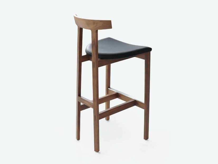High wooden stool TORII BAR | Stool by BENSEN & TORII BAR | Stool Torii Collection By BENSEN islam-shia.org