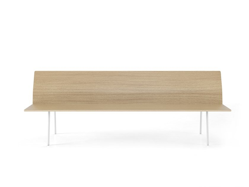 Torii Wooden Bench Seating By Viccarbe Design Ludovica Roberto Palomba