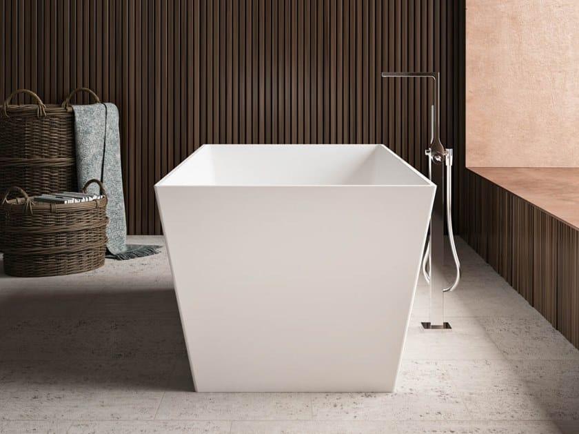 Vasca da bagno centro stanza rettangolare in Kstone TORINO by Karol
