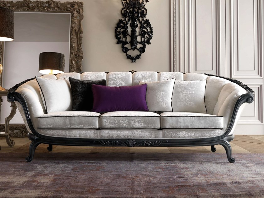 3 seater fabric sofa TORNABUONI | Fabric sofa by Andrea Fanfani
