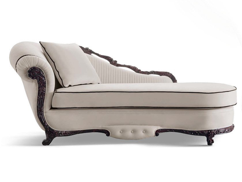 Upholstered fabric day bed TORNABUONI | Day bed by Andrea Fanfani