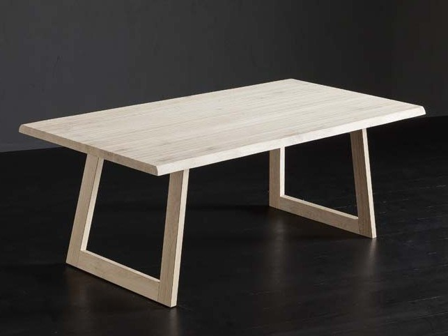 Rectangular oak dining table TORONTO + FLAT by AltaCorte