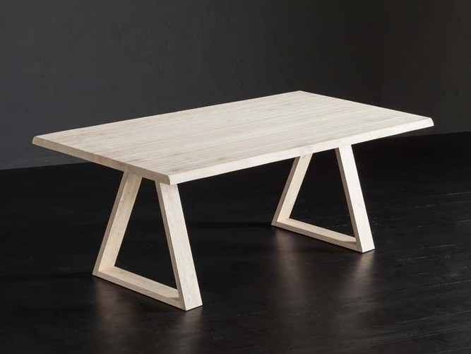 Rectangular oak table TORONTO + MEKANO by AltaCorte