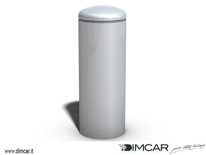 Fixed steel bollard post Dissuasore Torpedo by DIMCAR