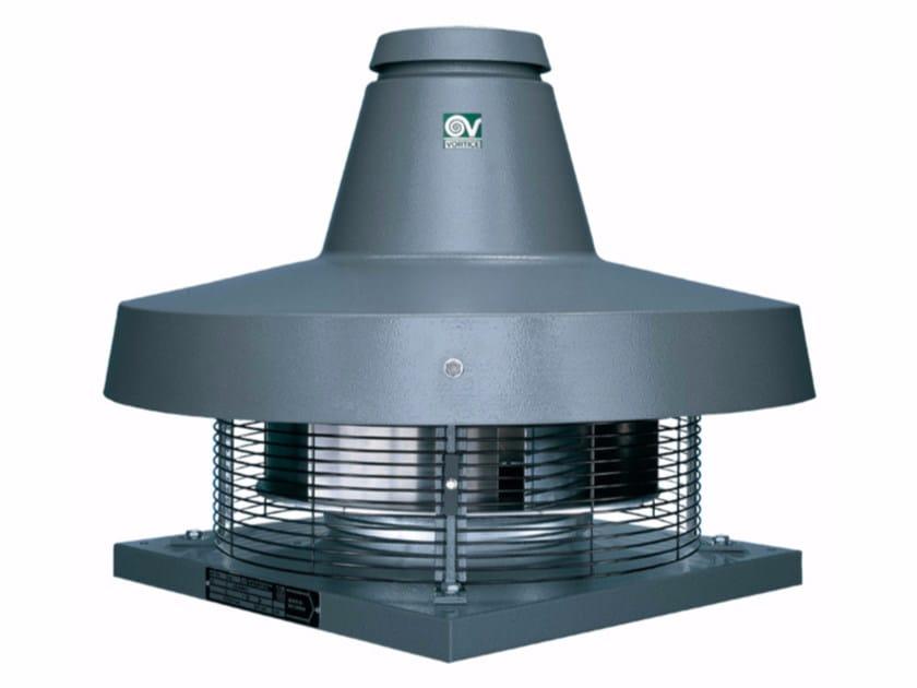 Aspiratore centrifugo da tetto a scarico radiale TORRETTA TRM 15 E 4P by Vortice