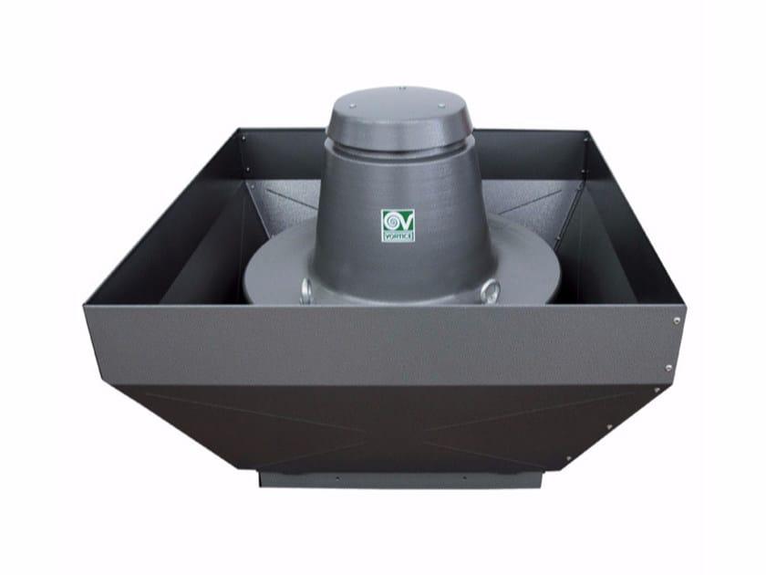Aspiratore centrifugo da tetto a scarico verticale TORRETTA TRT 100 E-V 4P by Vortice