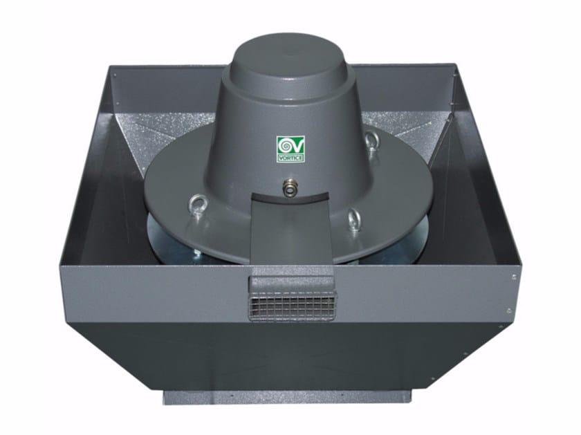 Aspiratore centrifugo da tetto per estrazione fumi caldi TORRETTA TRT 100 ED-V 4P by Vortice