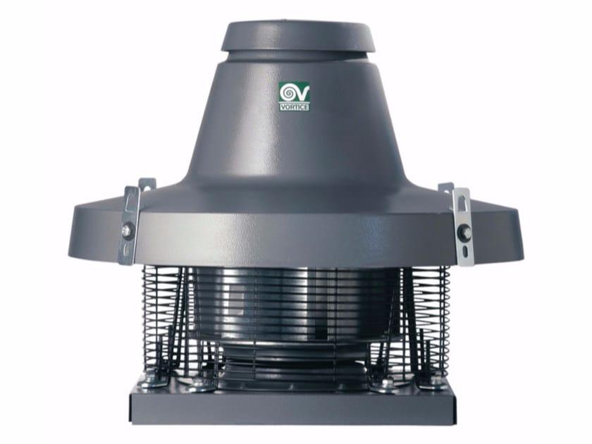 Aspiratore centrifugo da tetto per estrazione fumi caldi TORRETTA TRT 150 ED 8P by Vortice