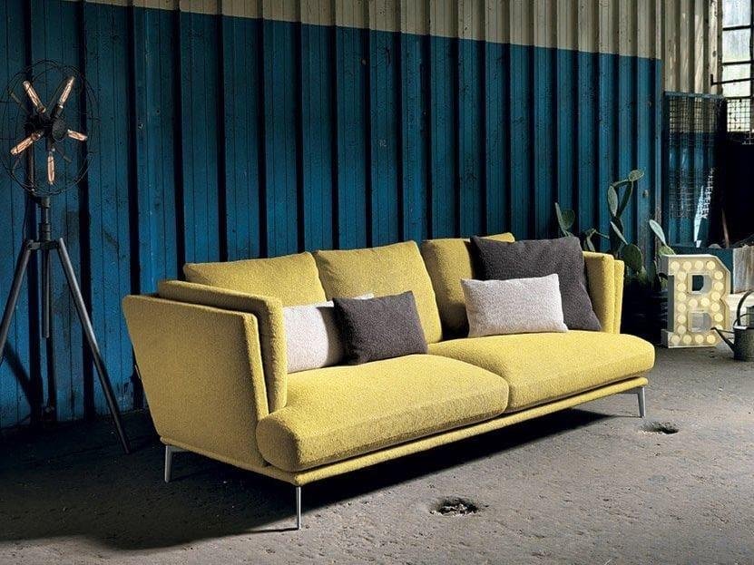 3 seater fabric sofa TORTONA | 3 seater sofa by Max Divani