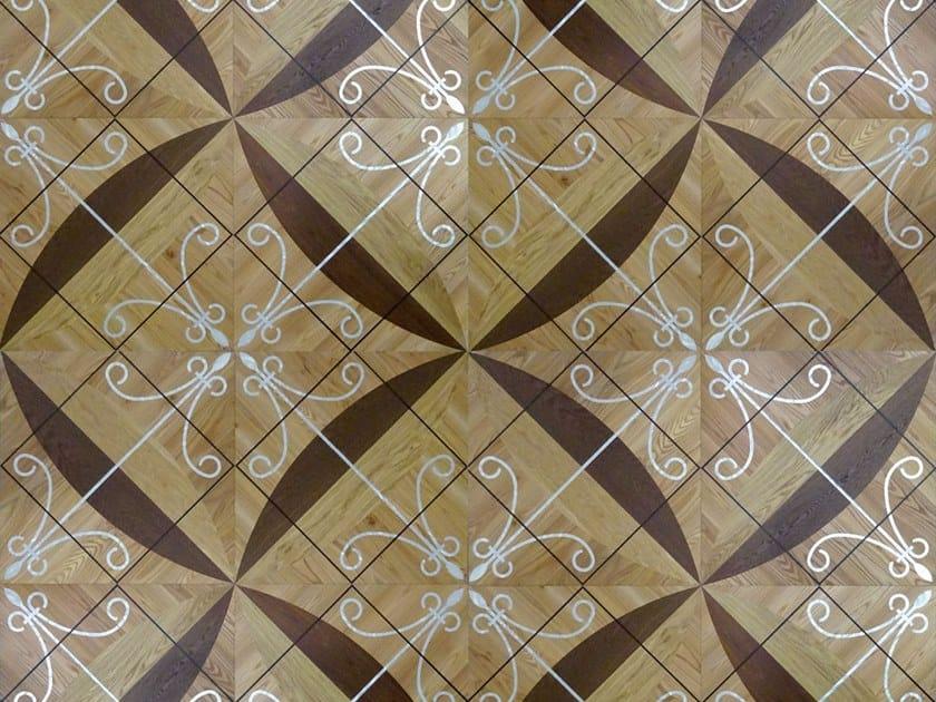 Inlaid wooden parquet TOSCA by Unikolegno