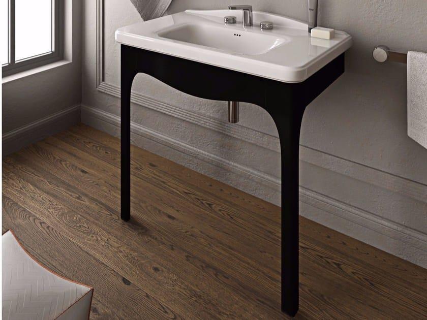 Console ceramic washbasin TOSCA | Washbasin by Hidra Ceramica