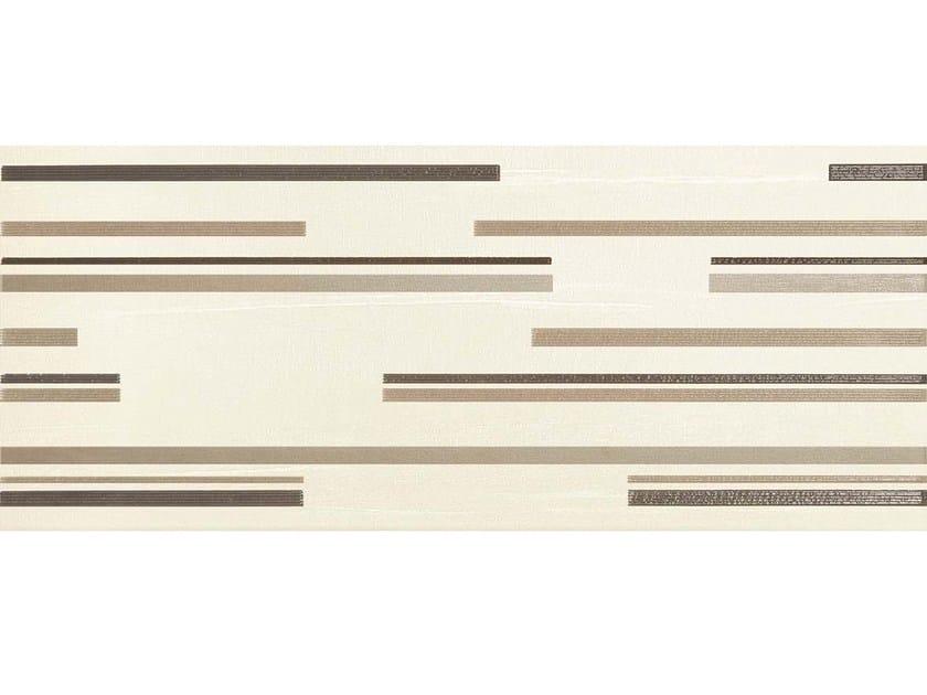 Rivestimento in ceramica a pasta bianca TOTAL LINE MOKA by CERAMICHE BRENNERO