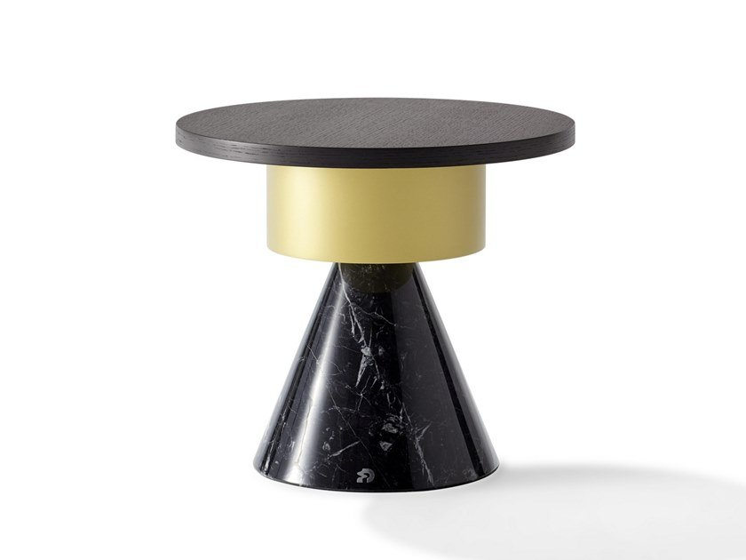 Round coffee table TOTEM   Round coffee table by Draenert