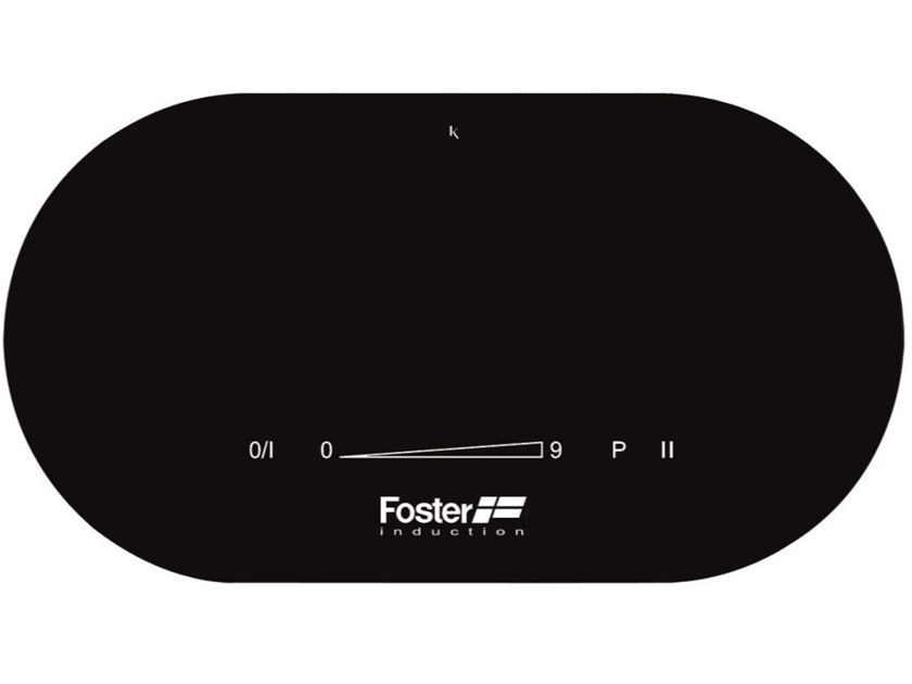 Piano cottura a induzione in vetroceramica TOUCH CONTROL MODULAR 3 ZONE BLK by Foster