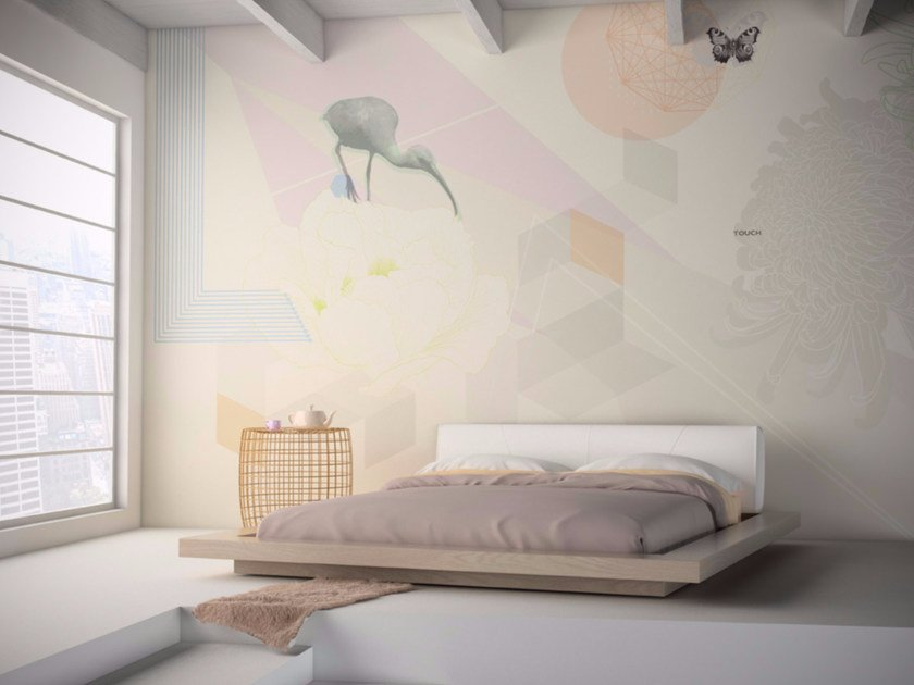 Washable vinyl wallpaper TOUCH by GLAMORA