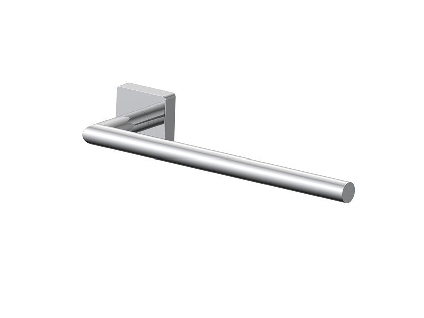 Brass towel rail FORUM QUADRA | Towel rack by INDA®