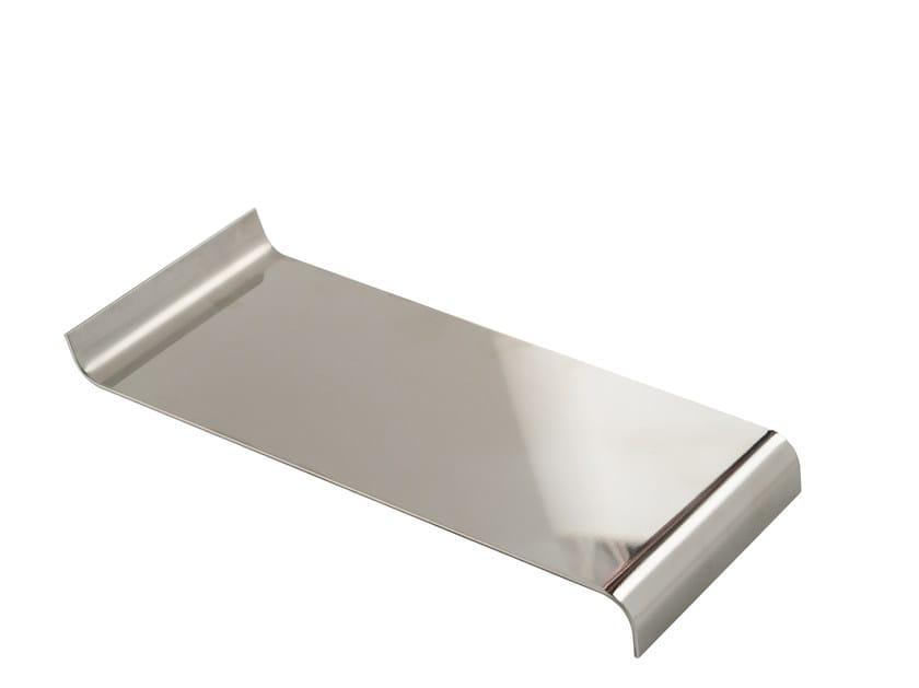 Chromed brass courtesy towel tray ESSENZA   Courtesy towel tray by LINEAG