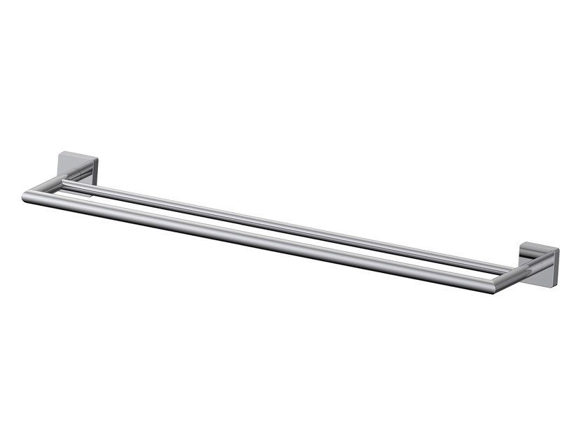 Brass towel rail FORUM QUADRA | Towel rail by INDA®