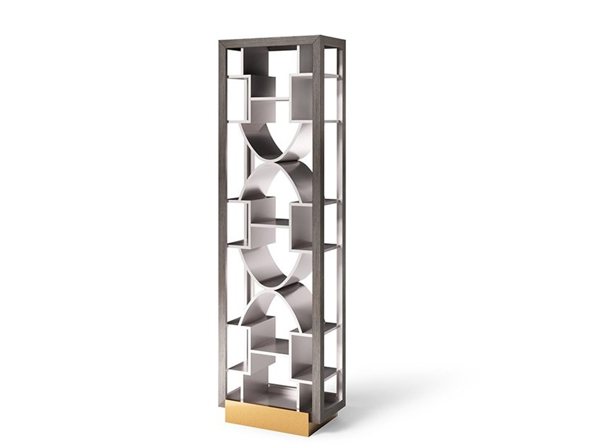 Lacquered bookcase TOWER by Valderamobili