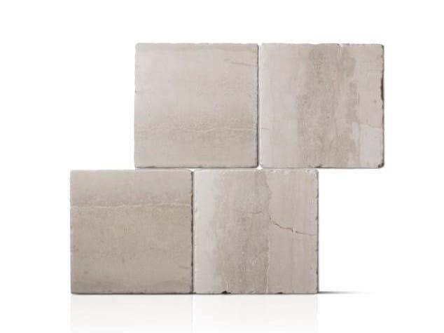 Trani stone outdoor floor tiles BRONZETTO ANTICATO - TRA 06 PIA ANT by DONZELLA PAVIMENTI