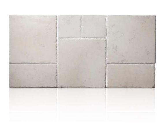 Trani stone outdoor wall/floor tiles OPUS ANTICATO - TRA 08 PIA ANT by DONZELLA PAVIMENTI