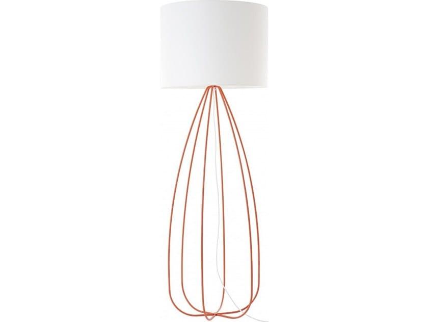 Metal floor lamp TRACES | Floor lamp by Flam & Luce