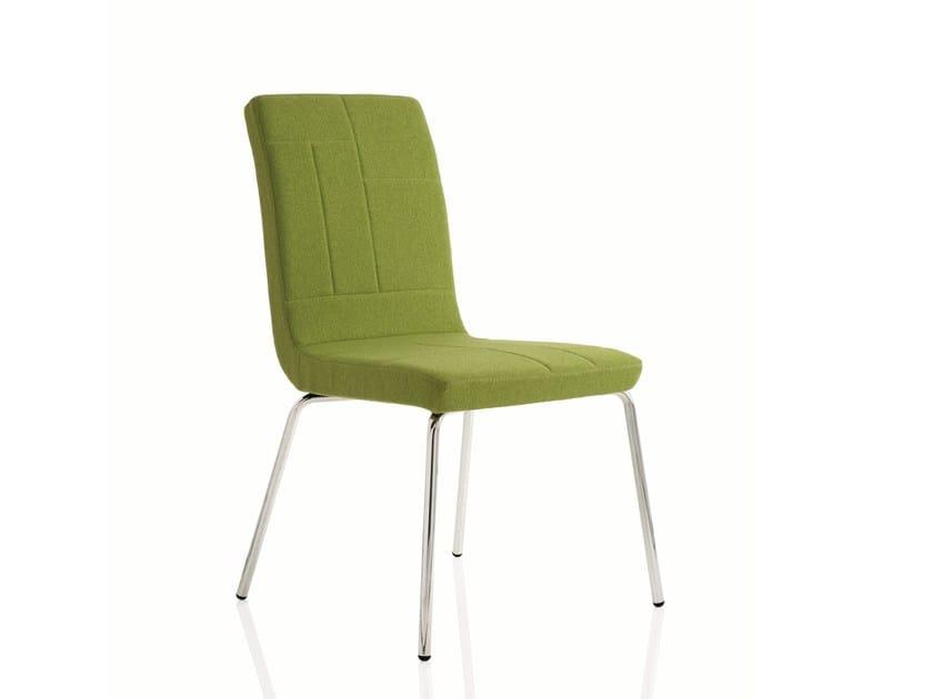 Fabric training chair PLAN CHAIR   Training chair by Emmegi