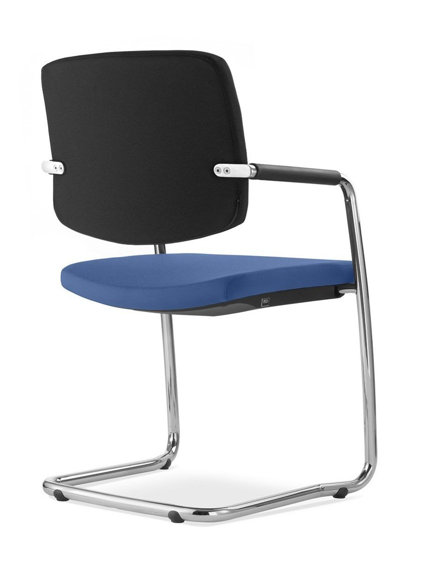 Cantilever training chair with armrests SWING | Training chair by LD Seating