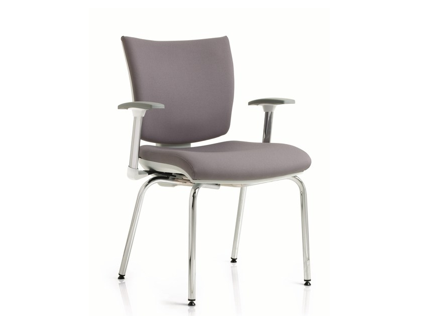 Training chair with armrests EM59 | Training chair with armrests by Emmegi